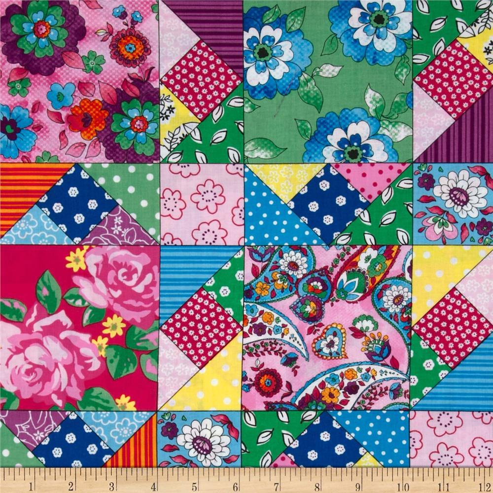 Quilting Bee Patchwork Multi