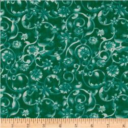 108'' Tonal Scroll Quilt Backing Quilt Backing Deep Ocean