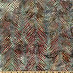 0260298 Artisan Batik: Texture Study Slash Chevron Vintage