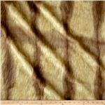 Faux Fur Fox Tail Gold