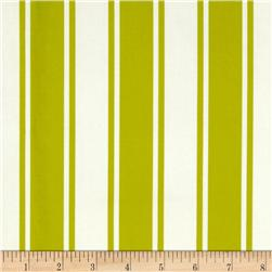 Logan Ticking Stripe Lime