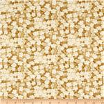 0260665 Autumn Plume Cherry Blossoms Mini Floral Beige