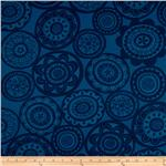 0261284 Summersault Home Decor Twill Cartwheel Midnight