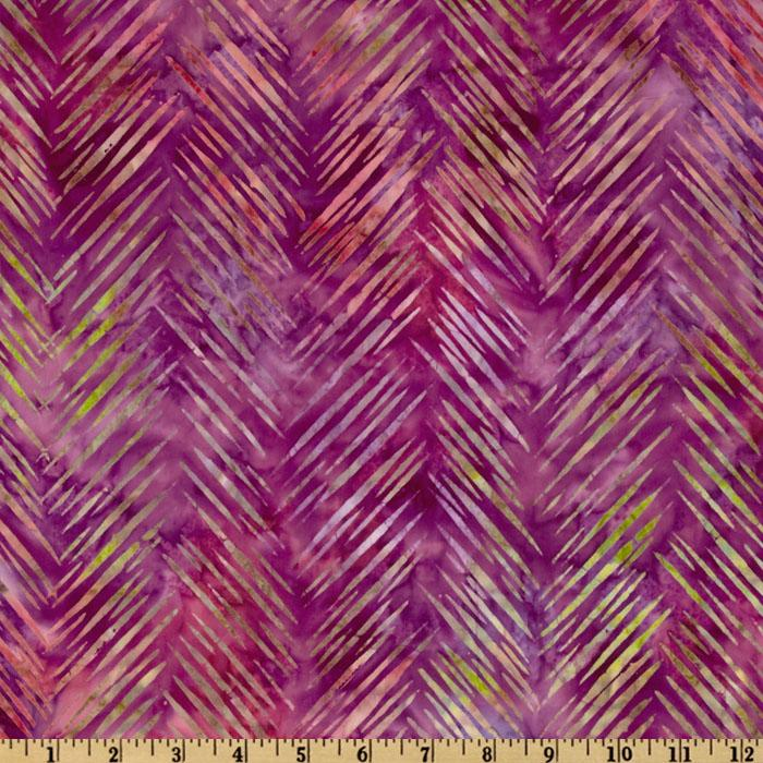 Artisan Batik: Texture Study Slash Chevron Fiesta