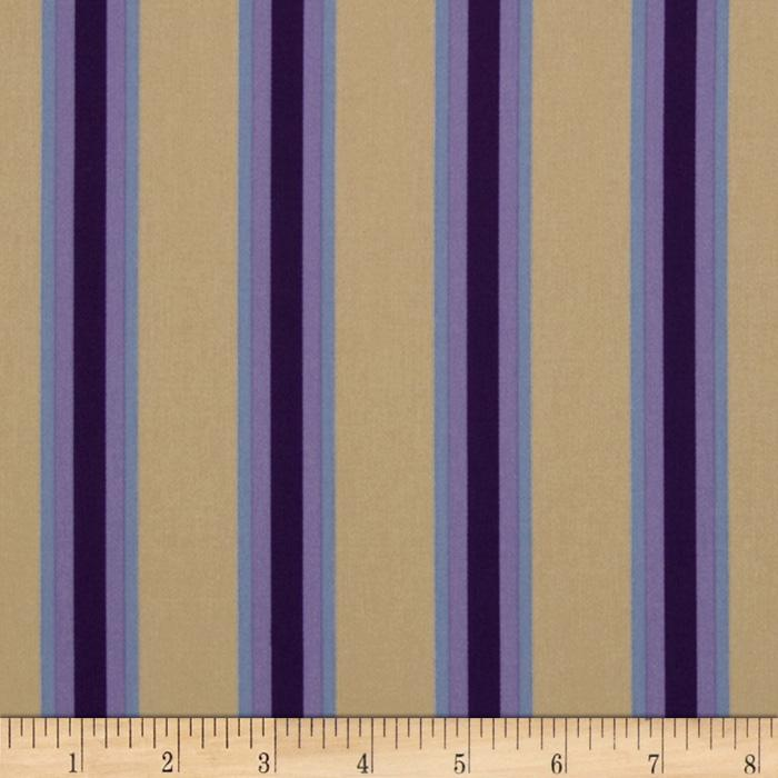 Logan Bungalow Stripe Taupe