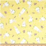 Springtime Bunnies Yellow