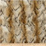 0260754 Faux Fur Brandy Fox Gold