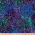 0262534 Tonga Batik Painted Lady Plume Vivid Purple