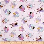 0260143 Timeless Treasures Fairies Pink