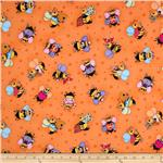 0260584 Bee Yourself Large Bee's Orange