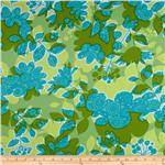 0261288 Summersault Home Decor Twill Shadowplay Grass