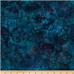 0260287 Artisan Batiks: Tango 2 Daisy Jewel Blue