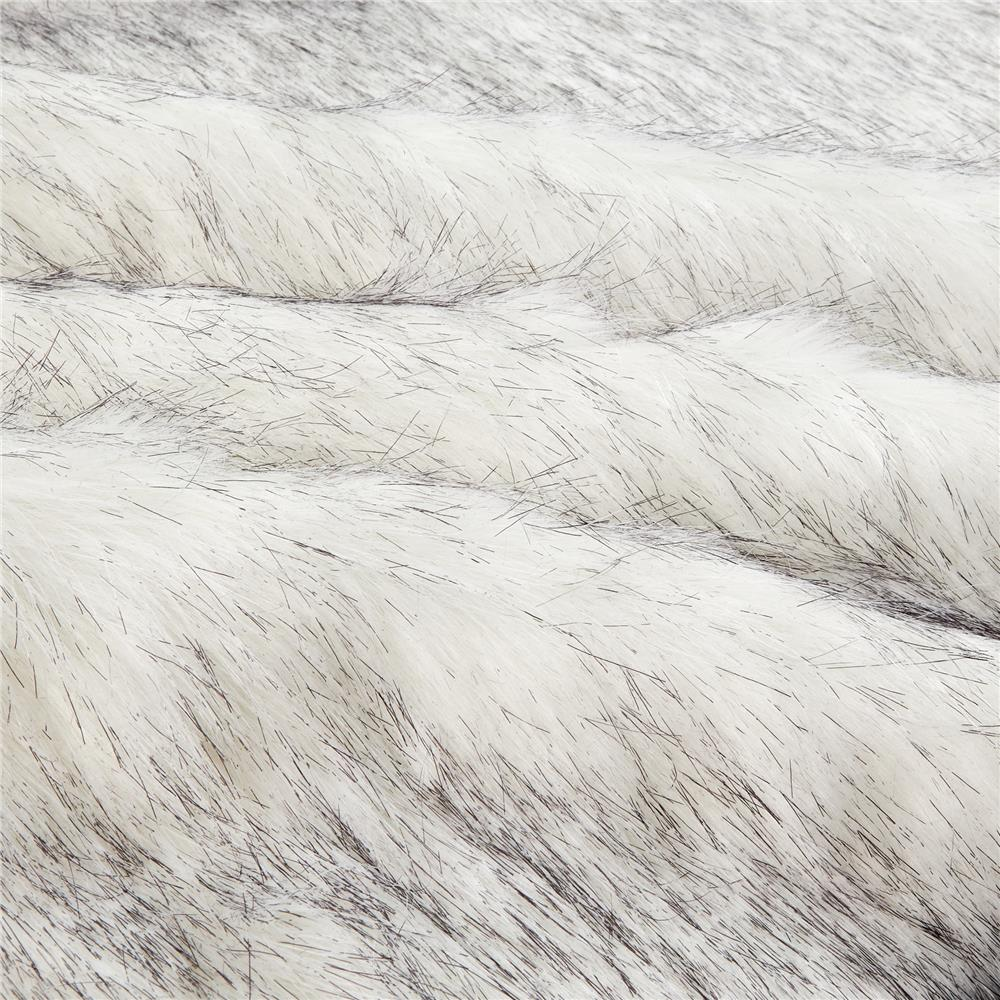 Faux Fur Husky Black/White