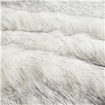 0260772 Faux Fur Husky Black/White