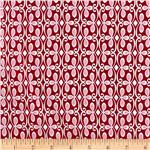 0260308 Olive The Ostrich Flourish Red