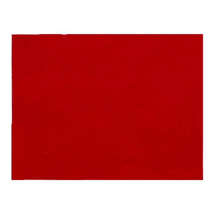 "Friendly Felt 9"" x 12"" Craft Cut Red"