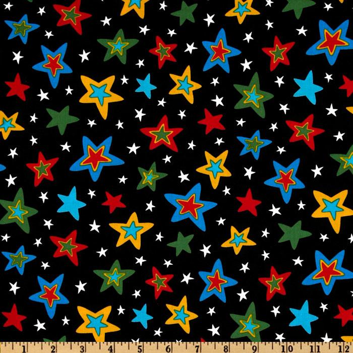 Celebrate Seuss 3 Stars Black