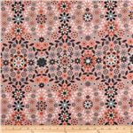 0261273 Silent Cinema Home Decor Twill Sunrise Orange