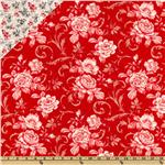 0260793 Lady In Red Double Sided Quilted Red