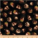 Hugs &amp; Kisses Chocolates Black