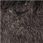 0260756 Faux Fur Fox Charcoal