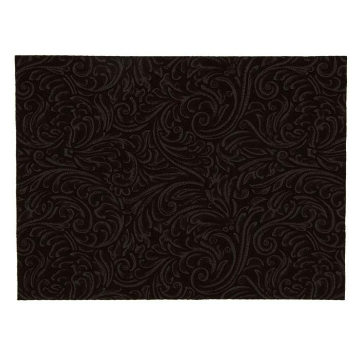 "Embossed Felt Galleria 9"" x 12"" Craft Cut Cocoa Brown"