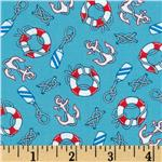 0260983 Regatta Anchors & Life Savers Aqua
