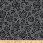 Eden&#39;s Dream Tonal Flowers Grey