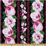 Flora Magnolia Border Pink