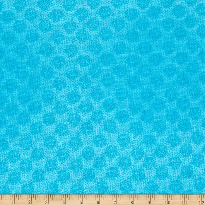 Colorwash Dots Tonal Blue