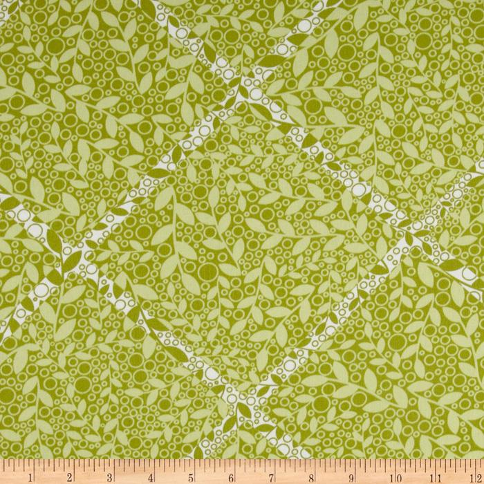Silent Cinema Home Decor Twill Featurette Green