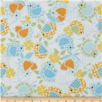 0260905 Baby Birds Allover Orange