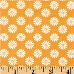 0260907 Baby Birds Daisy Orange