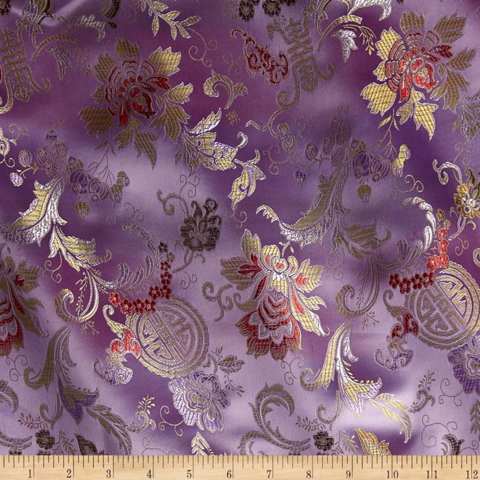 Chinese Brocade Shanghai Lilac
