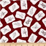 Winter Song Sewn Patches Red