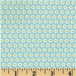 House and Home Set Daisy Pale Blue