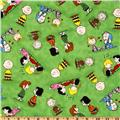Happiness Is…Peanuts Characters Green