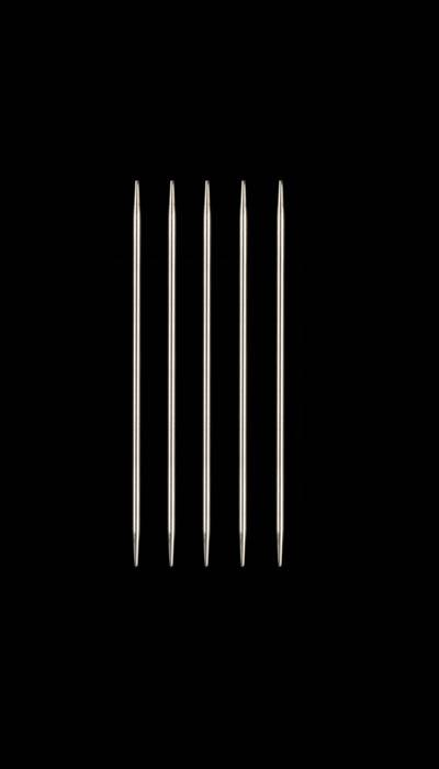 HiyaHiya Steel 4&#39;&#39; Double Pointed Knitting Needles US 0 (2mm)