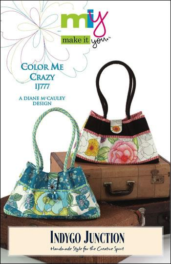 Indygo Junction Color Me Crazy Purse Pattern