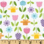 0271458 Alpine Flannel Spring Flower Purple