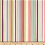 0300631 Deco Flowers Stripe Light Pink