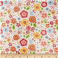 Riley Blake Laminate My Sunshine Large Floral Cream