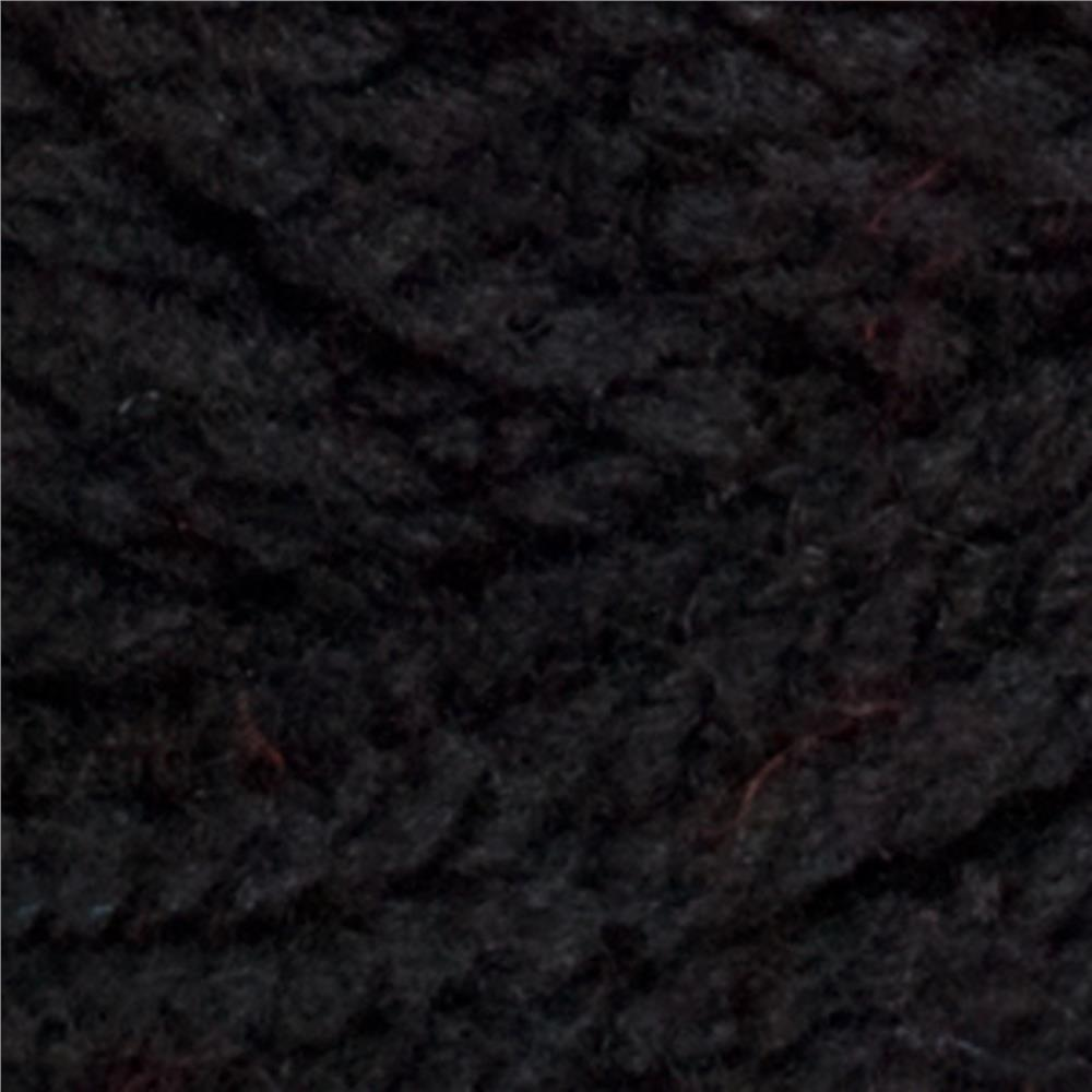 Red Heart Super Saver Chunky Yarn 312 Black