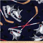 Fleece Hockey Navy