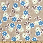 FN-390 Millie&#39;s Closet Floral Blue