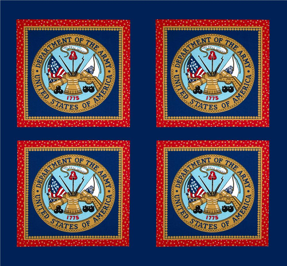 United States Seal Panel Blue