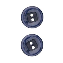 "Fashion Button 7/8"" Oulu Navy"