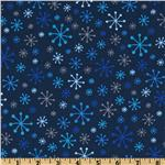FM-258 O&#39; Tinsel Tree Starry Snowflakes Frost