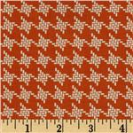 Riley Blake Avignon Houndstooth Orange