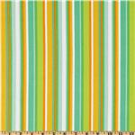 DK-545 Irving Street Flannel City Stripes Green